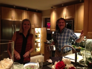 Trish and Dave Munson: the Most Interesting Couple in the World in their Well-Lit Kitchen